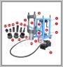 HCB-B1339 TRUCK KING PIN PRESS(75トン)DE。 PAT.M459081
