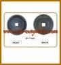 HCB-A1050-6 BPW TRAILER後輪ソケット(12トン)(博士1」、OVAL、111mm)