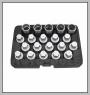 HCB-B2288 BMWホイールロック式スクリューセット(20PCS)
