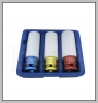"HCB-A2184 3 PCS薄肉DEEP IMPACT SOCKETキット(博士1 / 2 \ "")(17mm / 19mm / 21mm)"