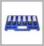 "HCB-C2184 6PCS IMPACT SOCKETキット(Dr.1 / 2 \ ""、MS17&15 / 17 / 19 / 21 / 22mm)"