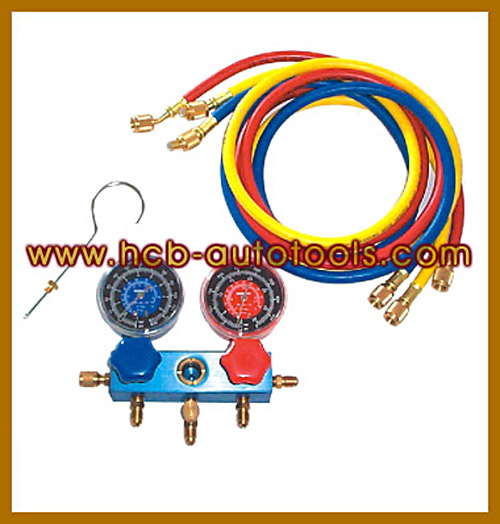 HCB-A5001 R-12マニホールドゲージセット