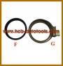 (変更)HCB-A1047-F&G BMW(E39 / E46)スプリングダンパー抽出/ INSTALLER